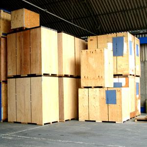 Bild på lagerförvaring Göteborg