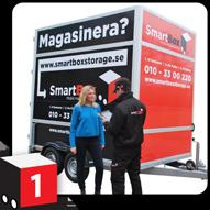 Smart box lagerförvaring Göteborg